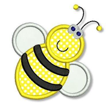 Bee applique
