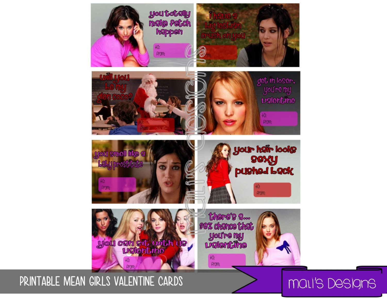 Mean Girls Valentines ...