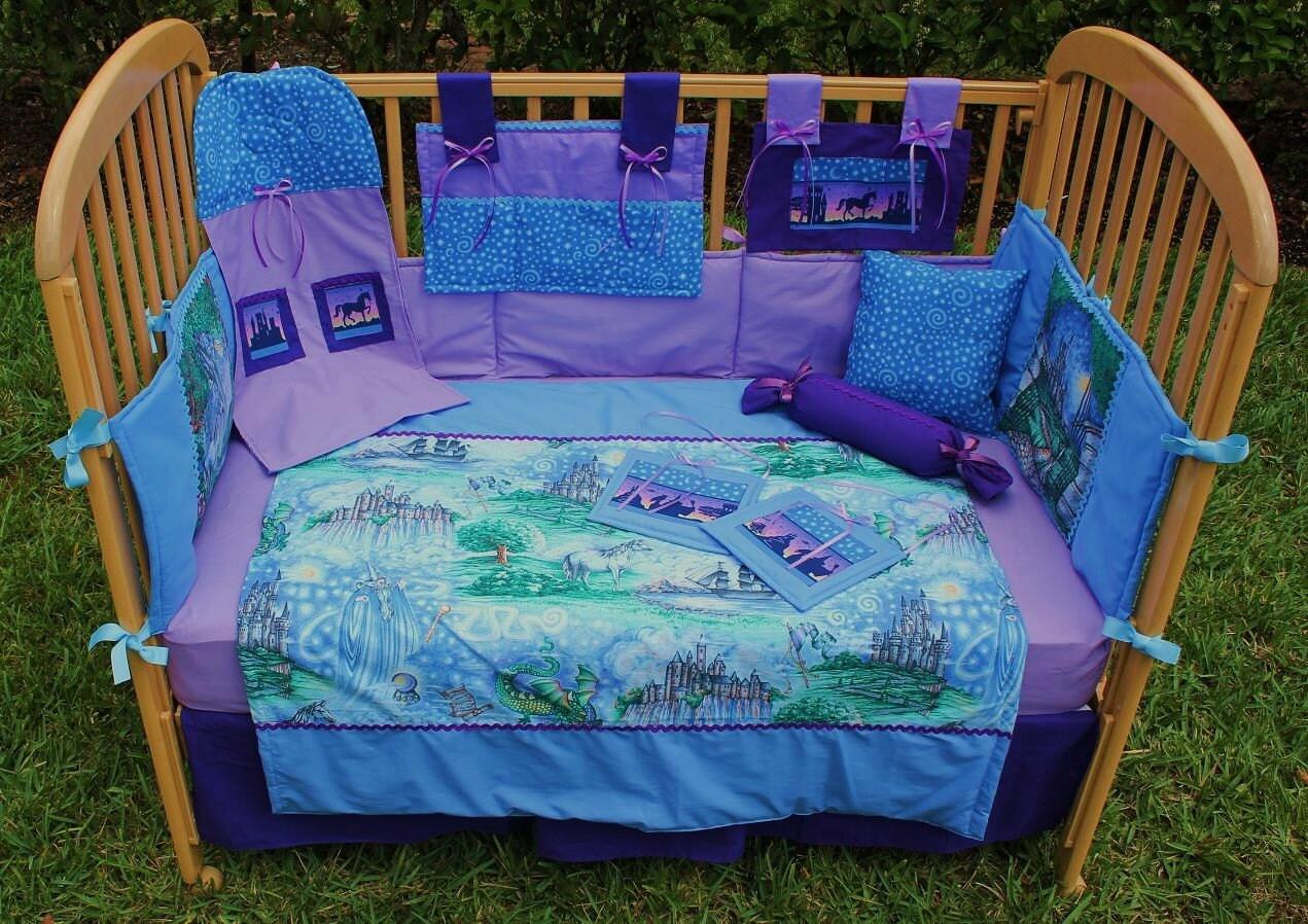 Fairy Tale 12 Piece Baby Bedding Crib Set By Treasurecoastbaby