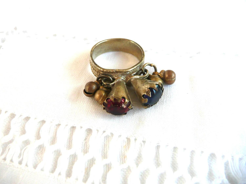 Antique tribal ring  Antique Afghan ring  Antique Kuchi ring  vintage Afghan ring  Afghan silver ring  7.5 US O UK antique ring
