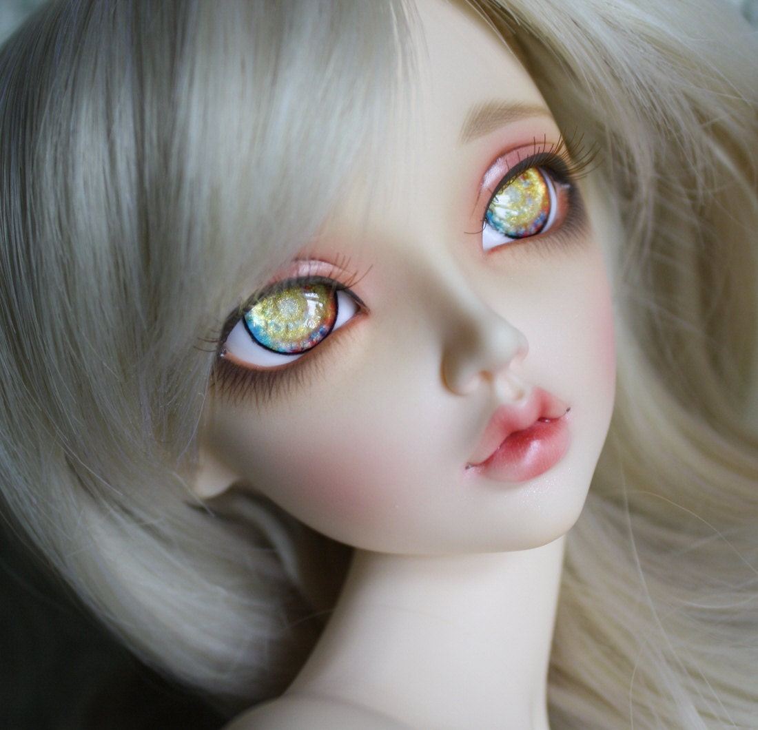 BJD eyes Doll eyes Hand made available in 12141618202224mm Glittering Ganesha made to order