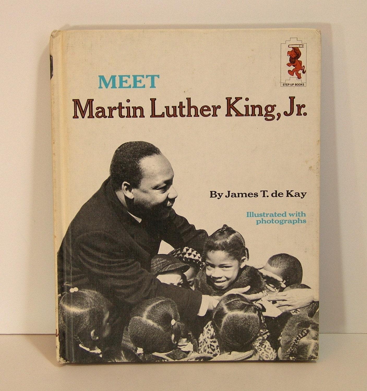 Meet Martin Luther King, Jr. Vintage Children's Book