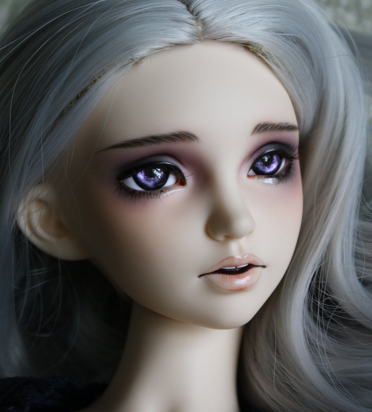 BJD eyes Doll eyes Hand made available in 12141618202224mm Luna Lavender made to order