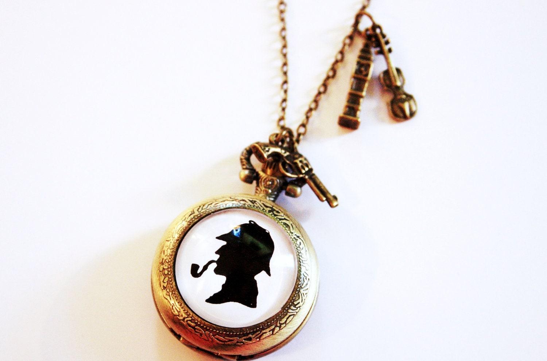 Pocket watch silhouette