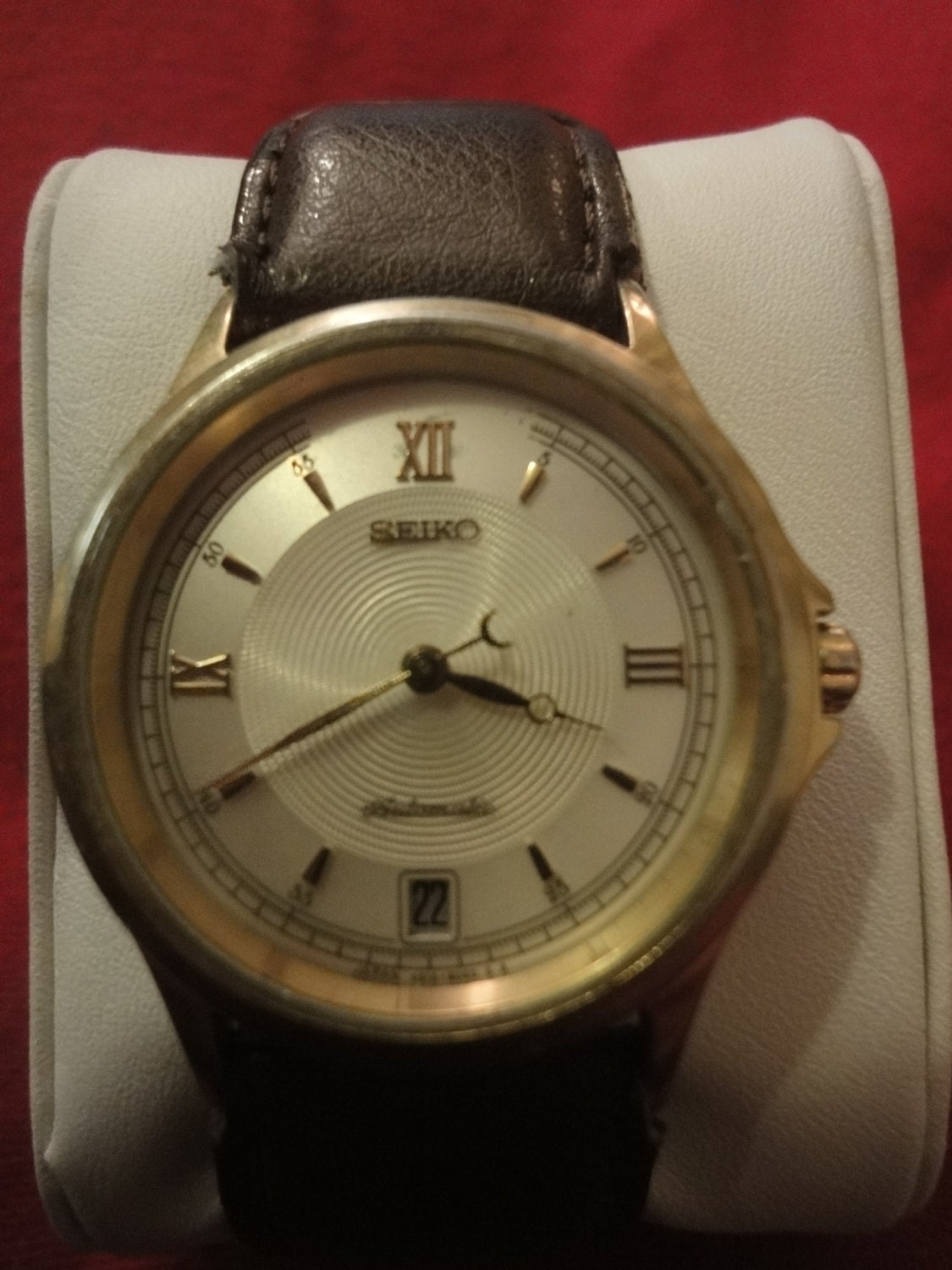 SEIKO (Seiko) antique watch automatic 4S158030 gents very rare!