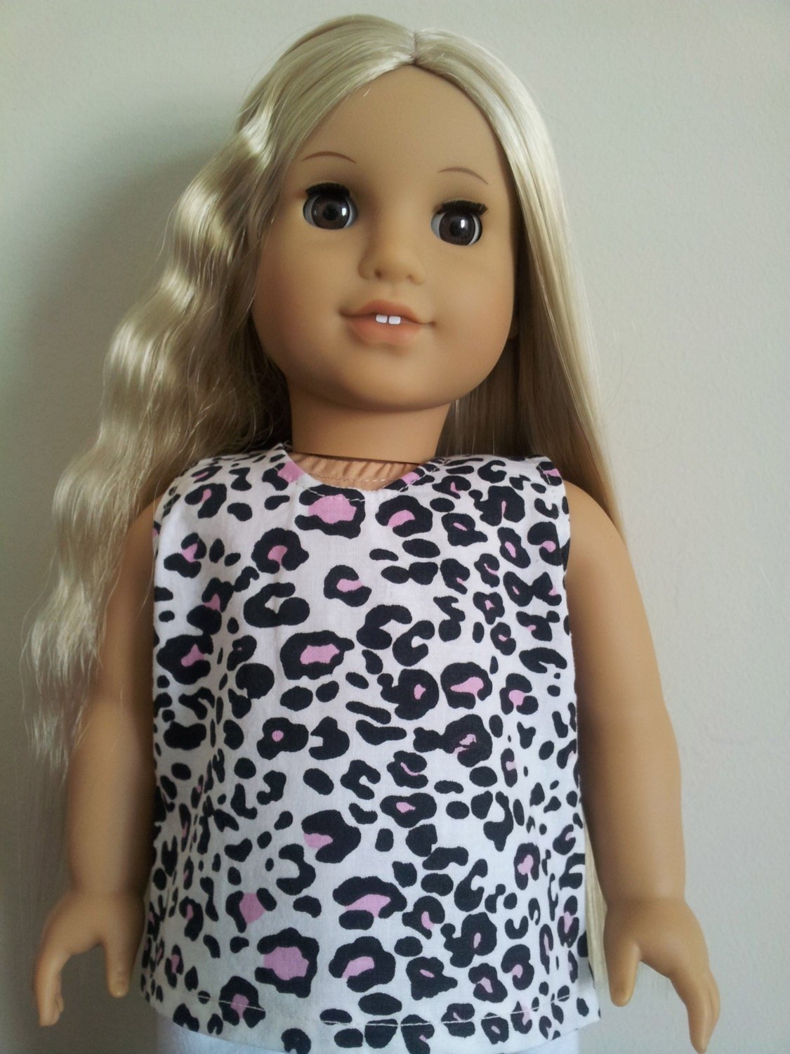 Sleeveless Cotton Tank for American Girl