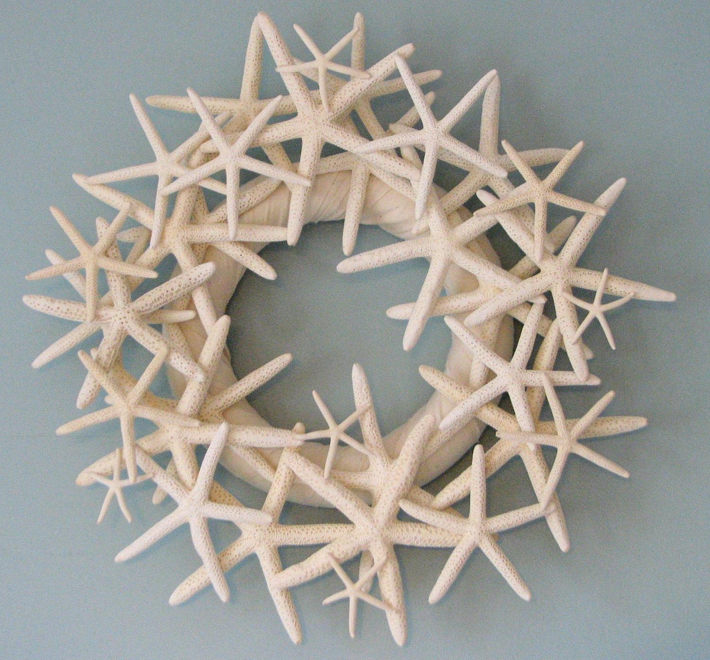 Пляж Декор Starfish Венок - Морской венок Seashell Декор