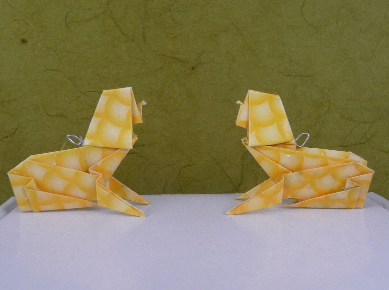 Оригами сфинкса 31