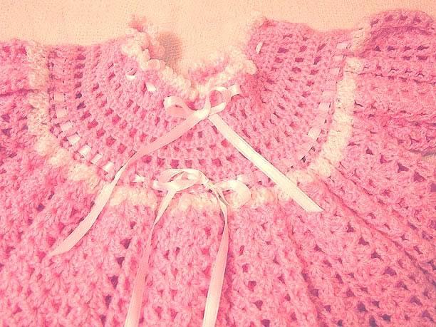 MIL AZAHARES BLANCOS: Chaqueta de lana para bebé y otros vestidos ...