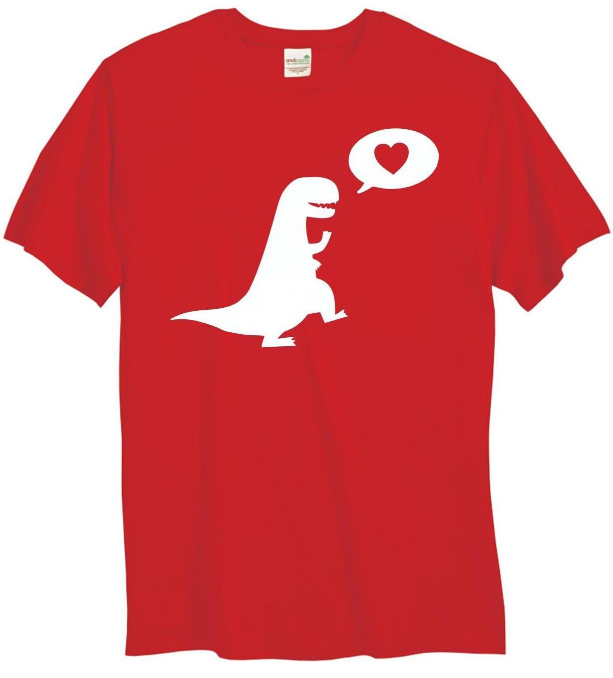 Luvosaurus Valentine's Day Toddler Tshirt