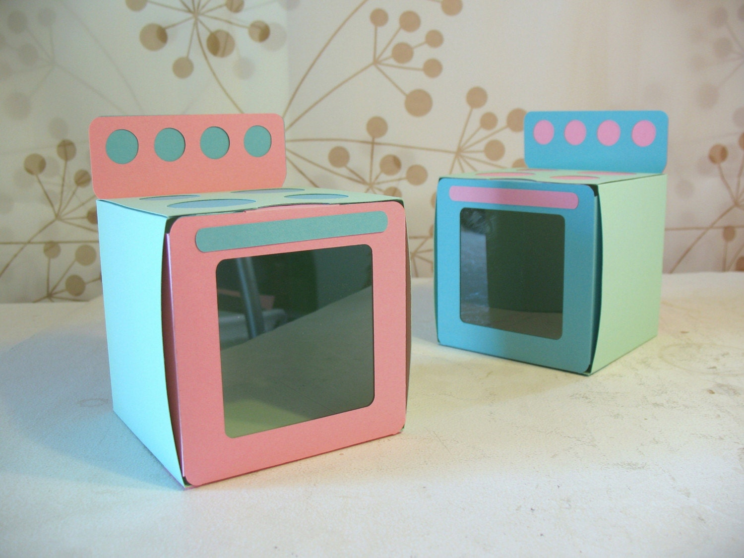 Bun In The Oven Favor Boxes Reserved For By Paperacorn On Etsy
