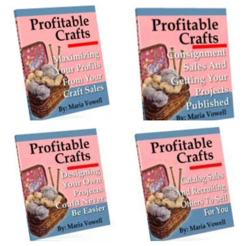Profitable crafts volume 14 ebooks with resell by grannyscozy for Profitable crafts