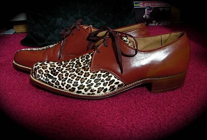 the coolest rockabilly shoes vintage 50s by