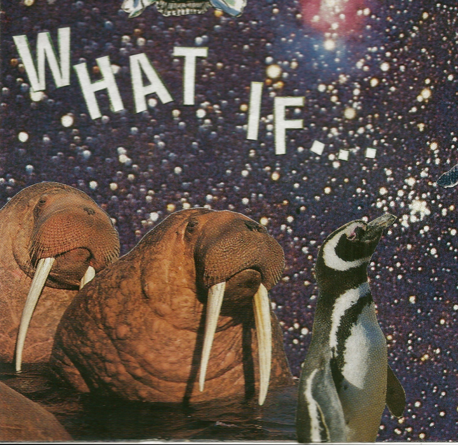 What If...  - Photo Collage (Print)