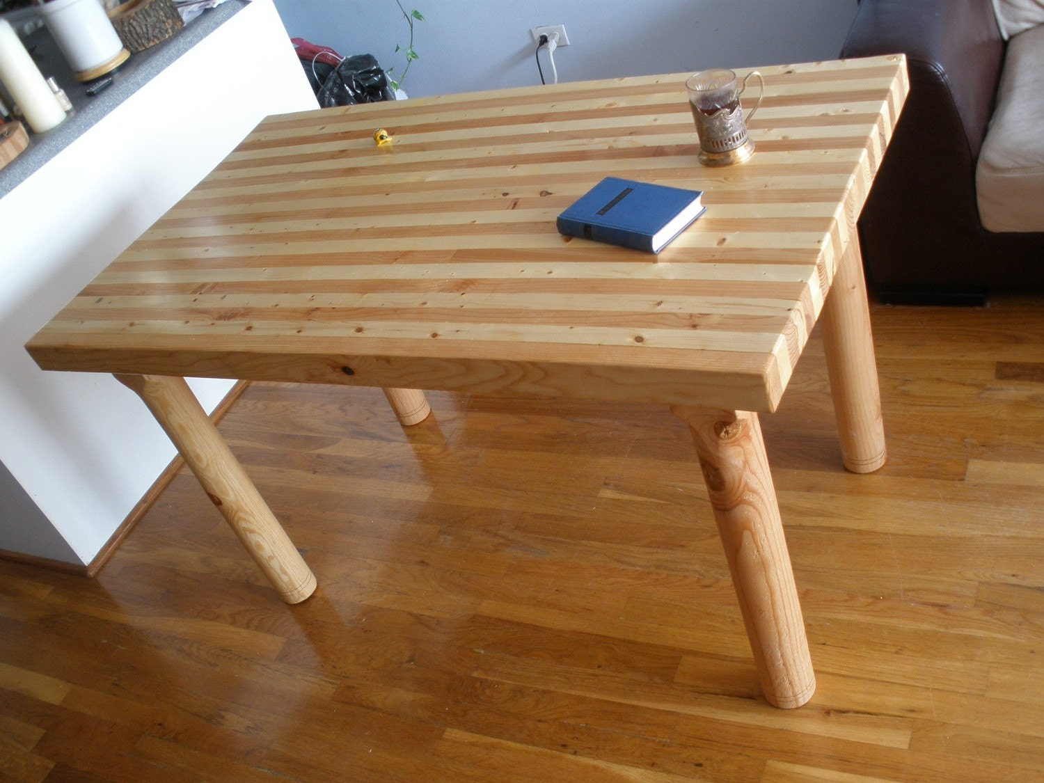 Butcher Block Dining Table By INGFURNITURE On Etsy