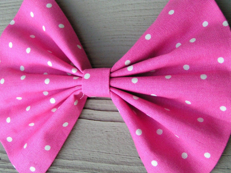 big hair bows large hair bow pink polka dot hairbow