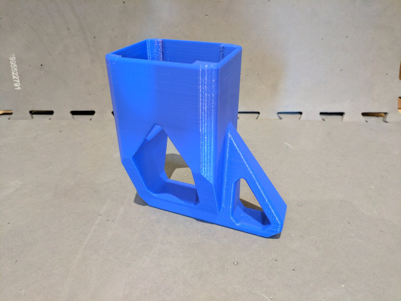 3D printed  Nerf Rival Apollo Stock  Blue