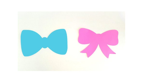 Il Bow Tie Cut Outs Etsy
