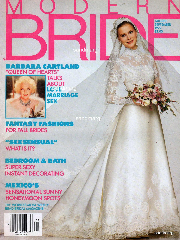 Modern Bride Magazine August September 1979 By Sandmarg On Etsy