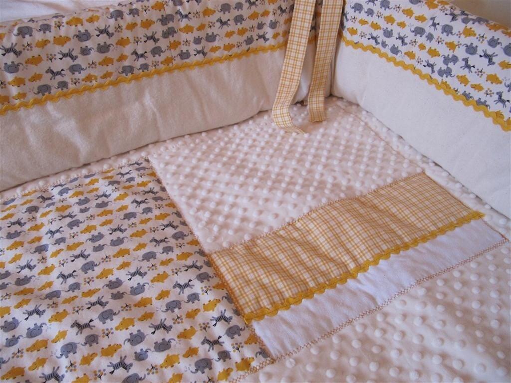 Baby bedding-1,2,3 elephants