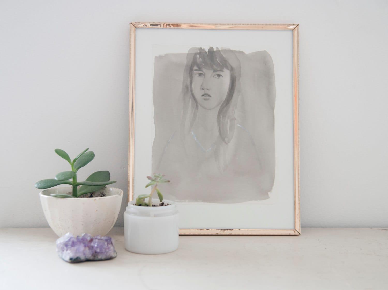 Orignal Painting - Hannah