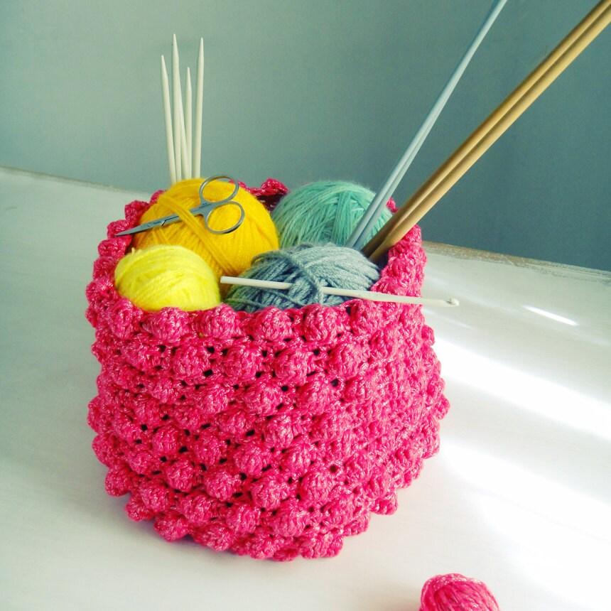 Easter Crochet Patterns For Beginners : Basket Crochet pattern PDF easy beginner PHOTO tutorial by ...