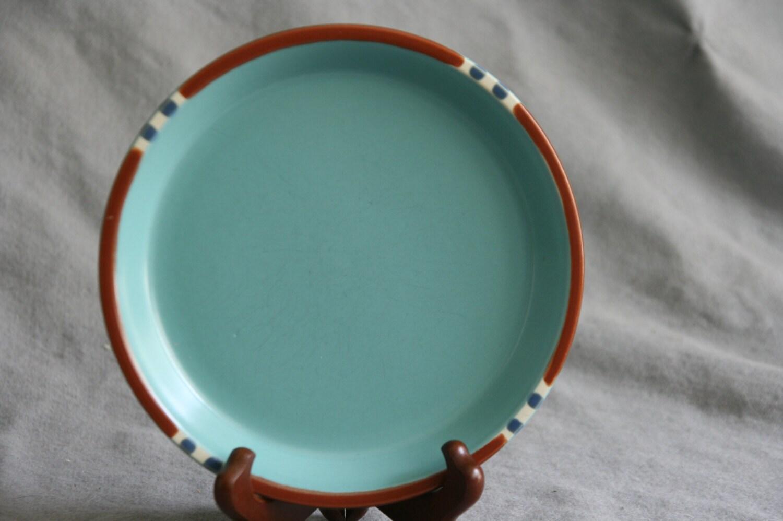 Vintage dansk brown mist dinner plates set of 2, danish modern dansk dinner plates set of 2
