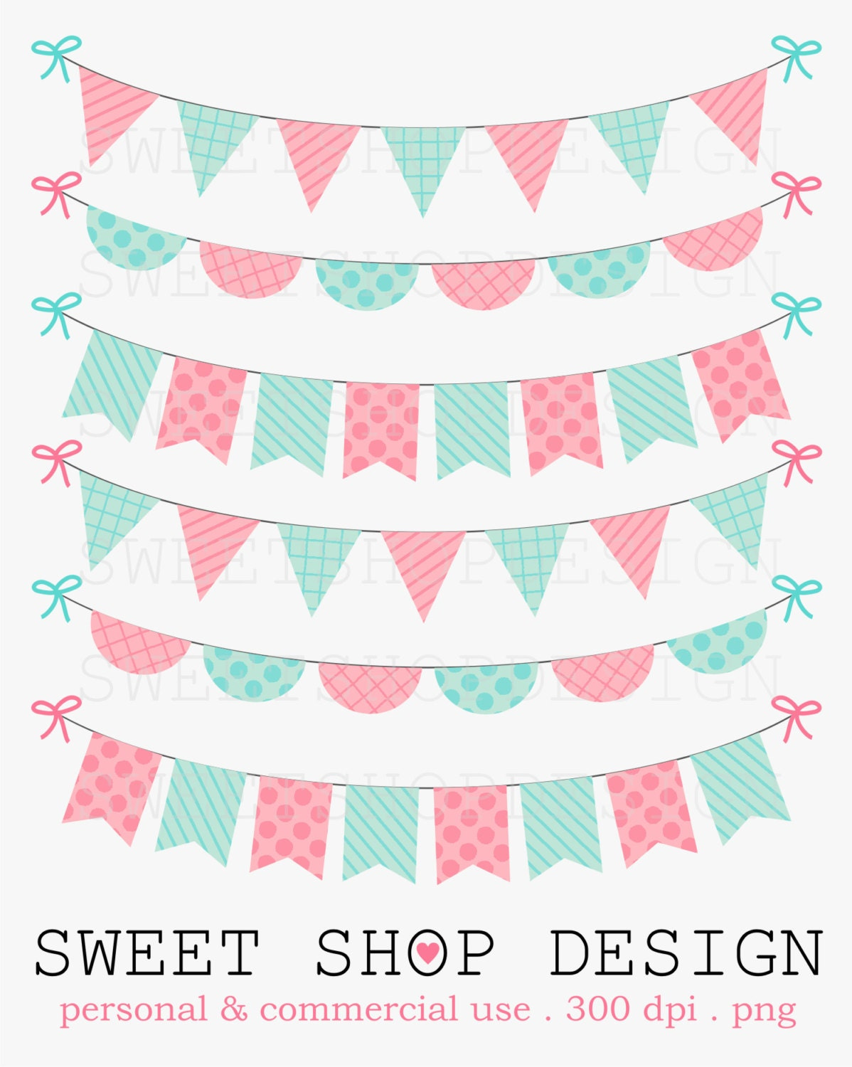50 OFF SALE Baby Shower Clipart Birthday Clipart