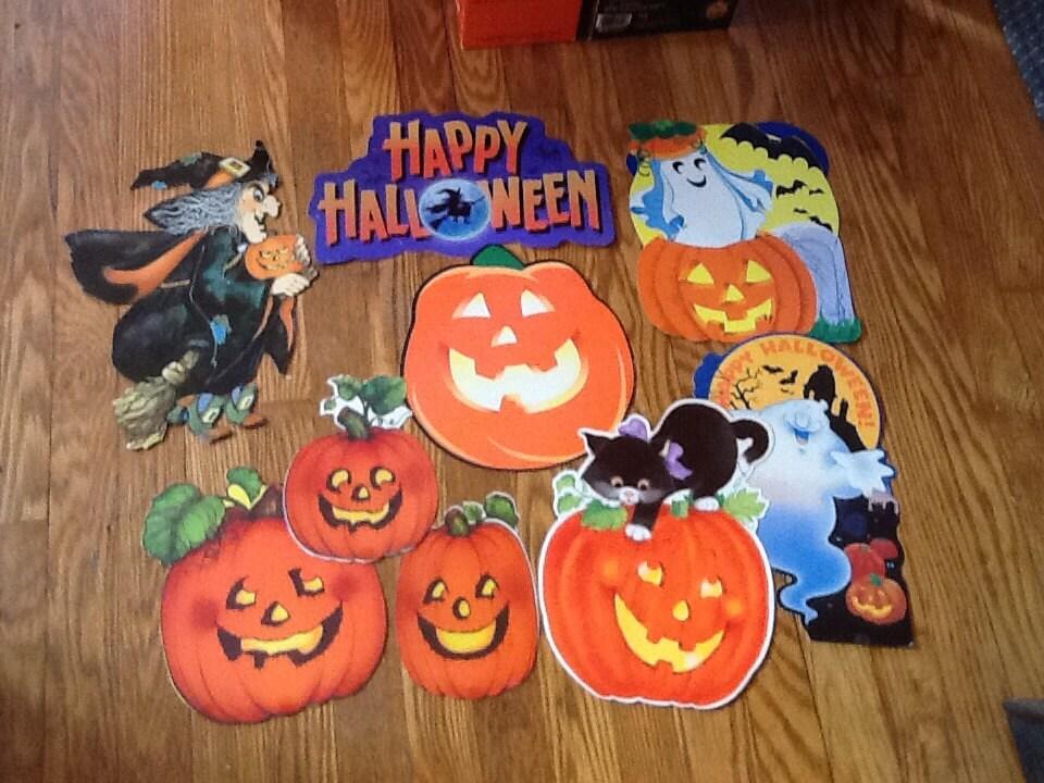 Vintage hallmark halloween