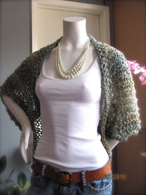 Knitting Patterns For Shrugs And Shawls : KNIT CROCHET SHRUG How To Crochet