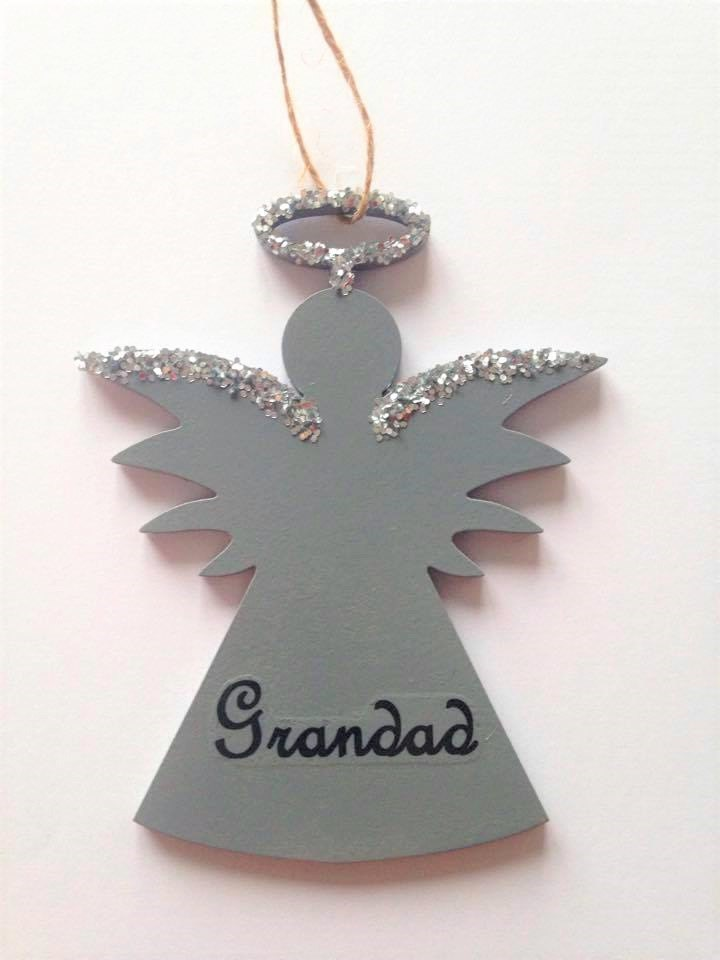 Keepsake Memory Angel Memory plaque Gardenchristmas hanging decoration