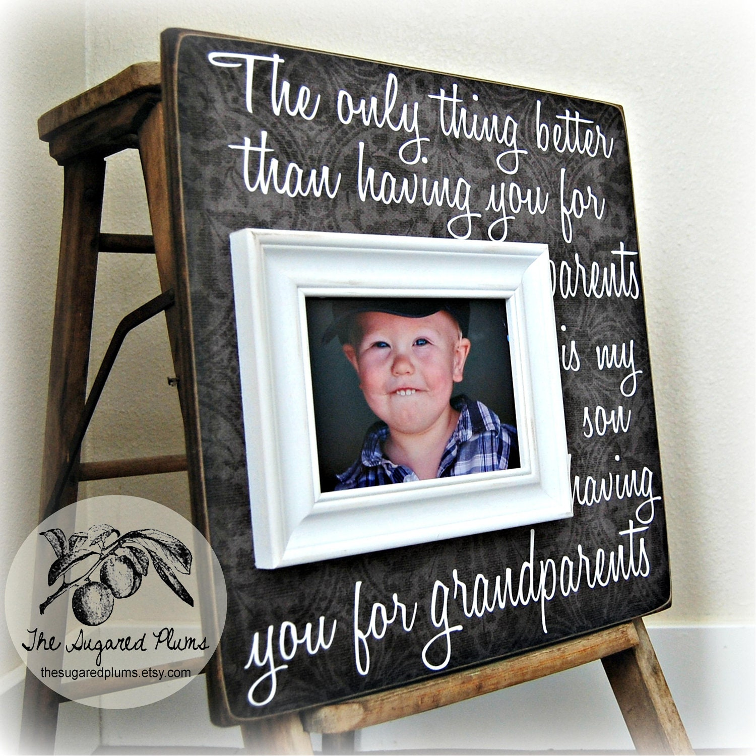Gifts For Grandparents Personalized Picture By Thesugaredplums