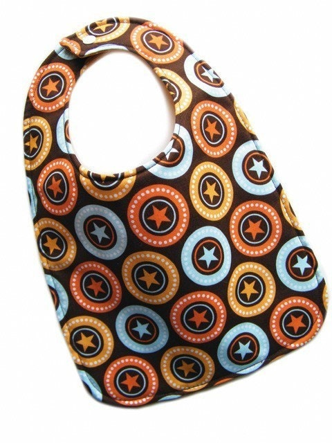 SALE - All Star REVERSIBLE Everyday Bib by Amy Rose Designs