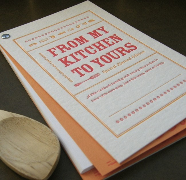 Diy homemade cookbook kit designed by a day in by for Homemade cookbooks template