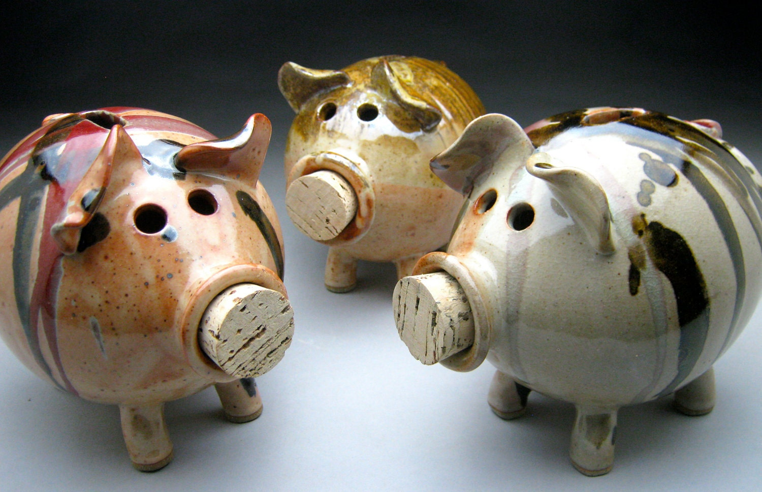 Ceramic Piggy Bank - Made to Order - meeshspottery