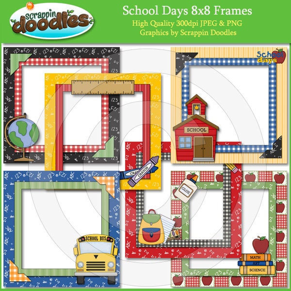Days in School A Ten Frame Display by Brandy Withers at