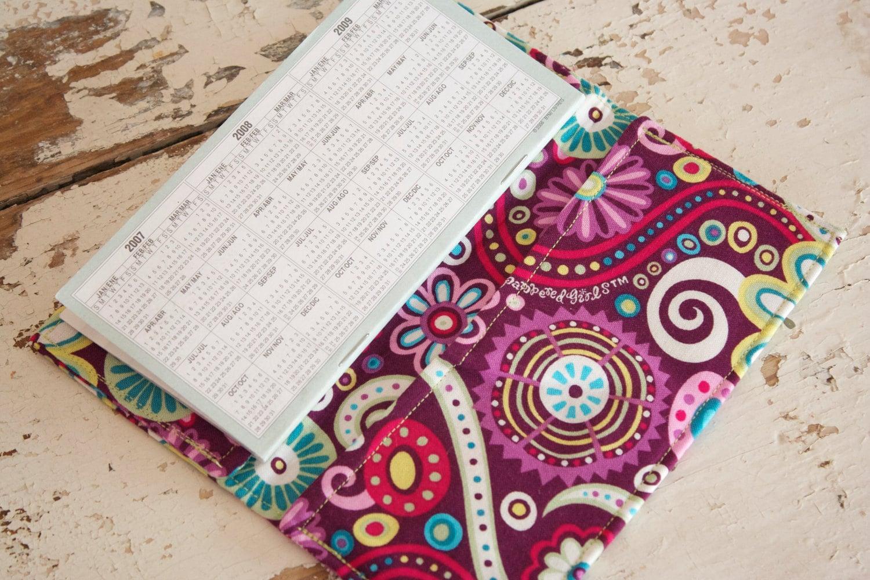 Checkbook Cover Pattern ~ Checkbook cover fun purple pattern by shopthepoppyshoppe