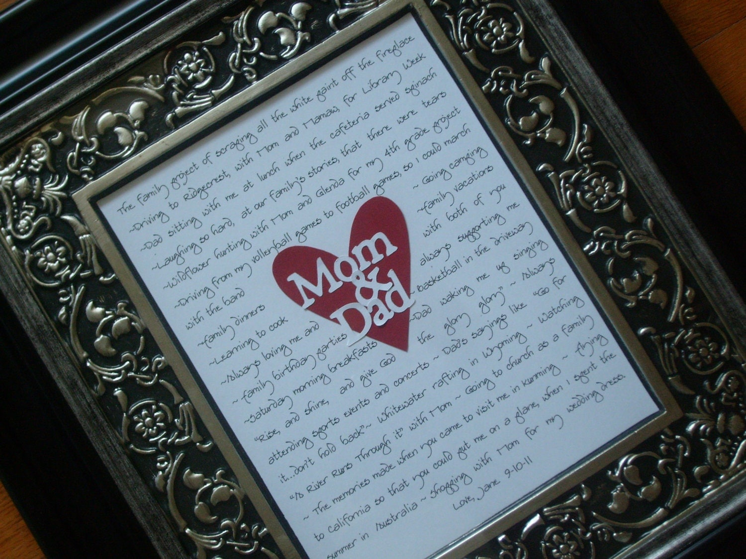 Wedding Gift Ideas From Grooms Parents : wedding gifts for parents, mother of bride, father of bride, mother of ...