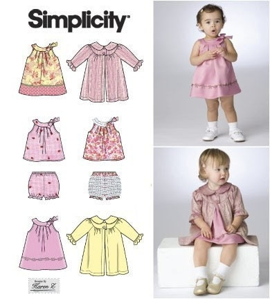 BABY CLOTHES PATTERN Preemie to Size for by