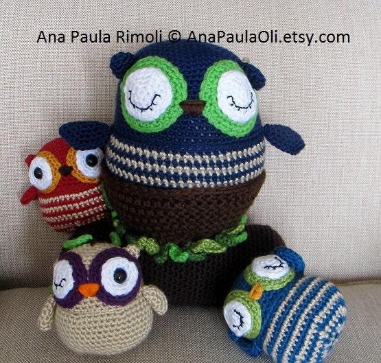 Amigurumi Baby Mobile Pattern : Seriously Cute Crochet III ebook 25 amigurumi by anapaulaoli