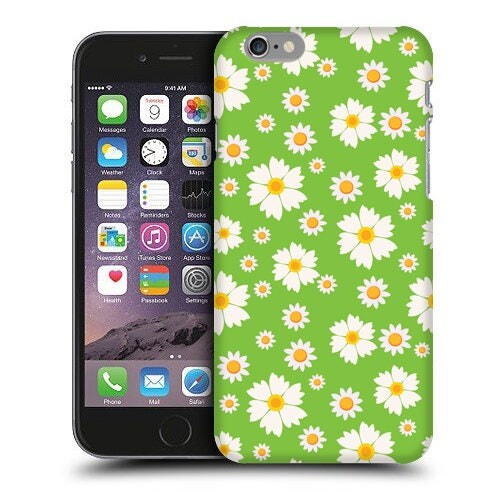 Green Daisy Phone Case iPhone Cases iPod Touch Cases and Samsung Galaxy Cases