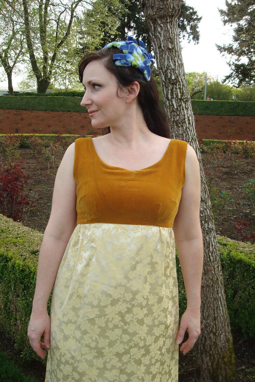 Wedding Dress Yellow Prom Dress Gold Wedding Dress 1960s