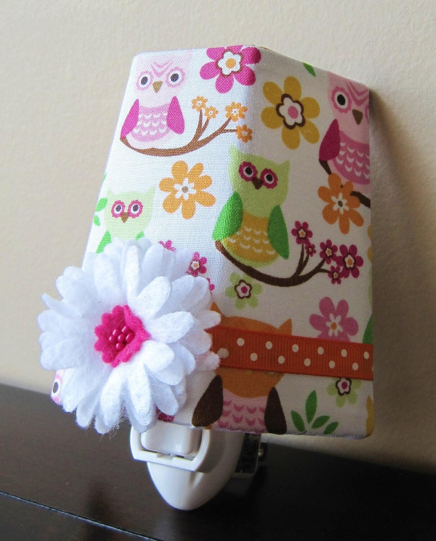 Pretty Owls Girl 39 S Night Light By Starlightsbyamber On Etsy