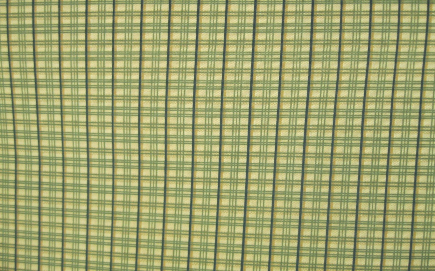 Items similar to Fabric by The Yard Home decor Green Plaid
