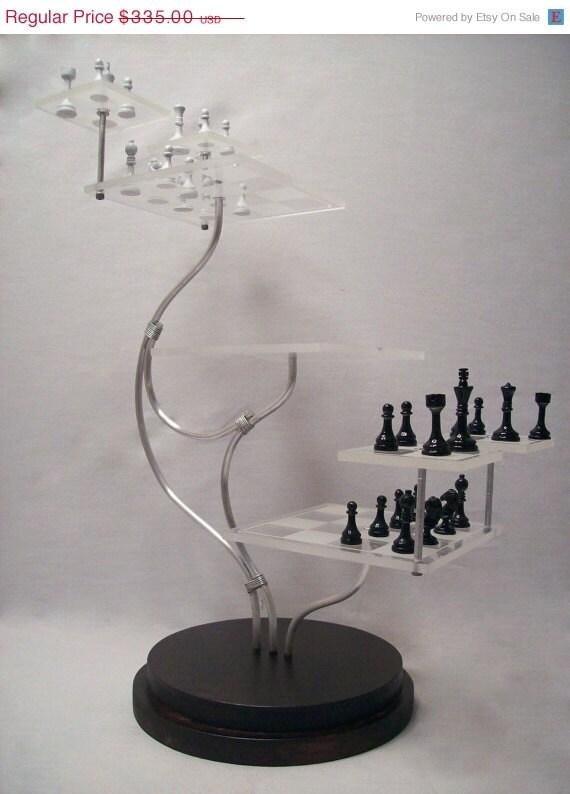 Tri dimensional chess set custom star trek style 3d by mdbuch15 - Tri dimensional chess set ...