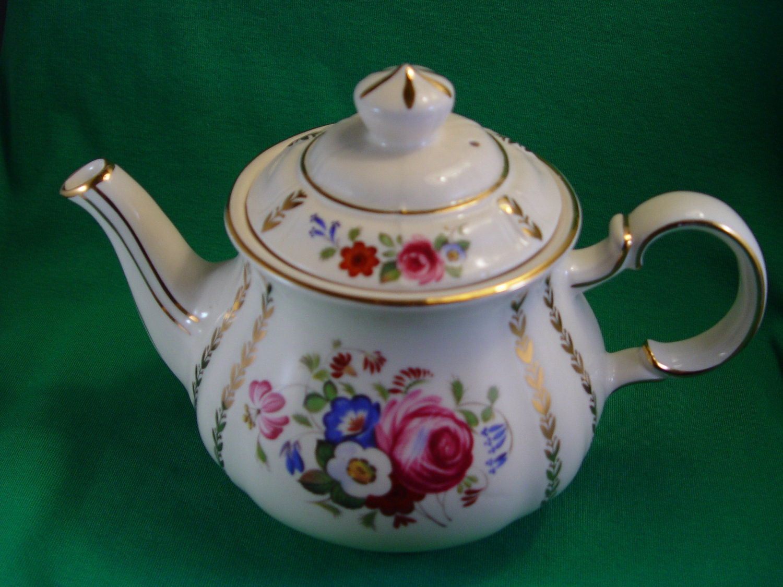 Reserved Rhian Sadler Teapot England 3682 By