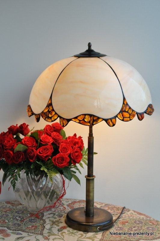 items similar to stained glass tiffany style lampshade. Black Bedroom Furniture Sets. Home Design Ideas