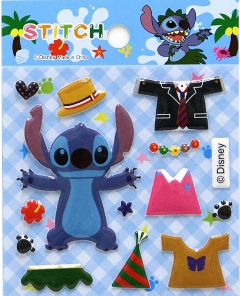 Disney Stitch Dressed Up