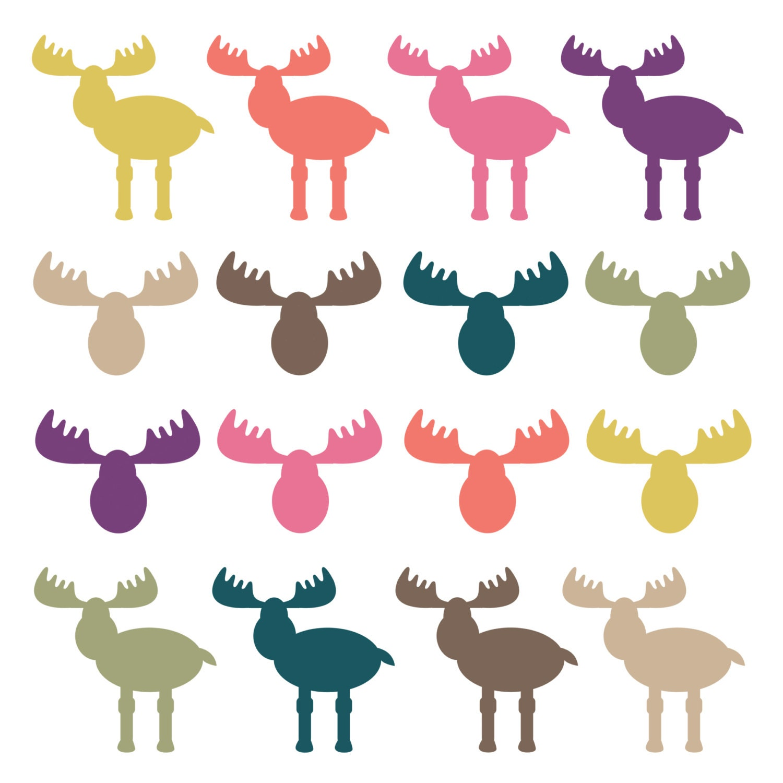 Moose Antler Clipart 60% off sale clipart clip art