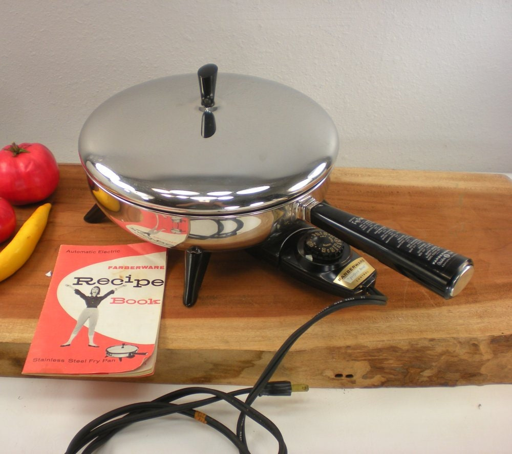 1958 Farberware Electric Fry Pan Skillet 10 with by ...